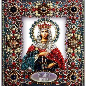 Образа в каменьях икона Святая Ирина арт. 77-и-52