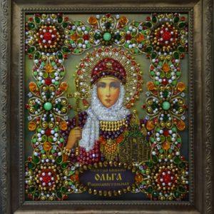 Хрустальные грани Образ Святой Ольги Равноапостольной арт. Ии-03
