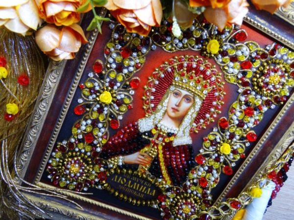 Хрустальные грани Образ Святой Людмилы Чешской арт. Ии-09