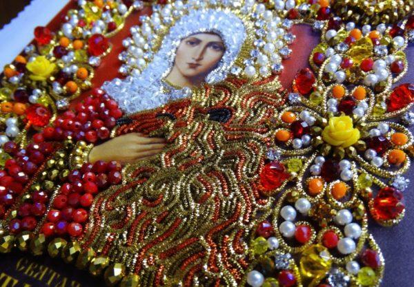 Хрустальные грани Образ Святой Татьяны Римской арт. Ии-11