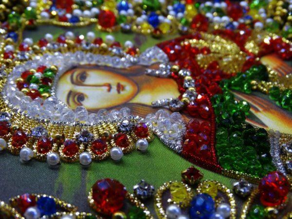 Хрустальные грани Образ Святой Фотинии (Светланы) арт. Ии-07