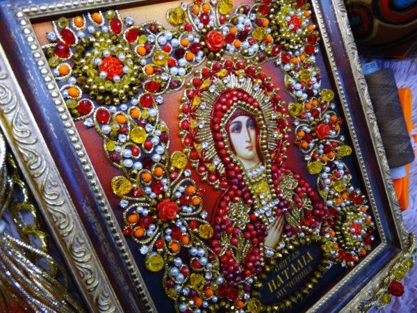 Хрустальные грани Образ Святой Наталии Никомидийской арт. Ии-08