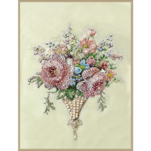 Образа в каменьях Винтаж Rose mini арт. 5547